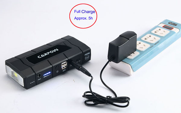 charge emergency jump starter