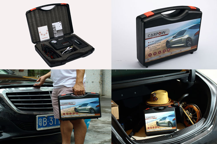 very convenient to carry D32 multi function car engine starter