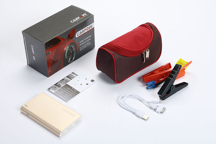 accessories and package for best battery jump starter