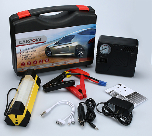 the accessories of rechargeable jump starter